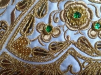 Bullfighters tailoring: art in gold and silk