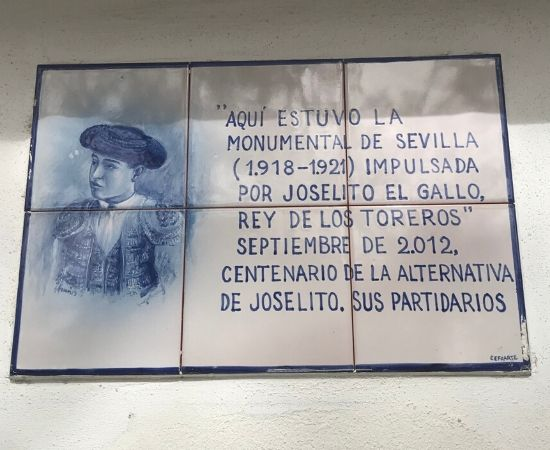 centenario de la alternativa de Joselito El Gallo.